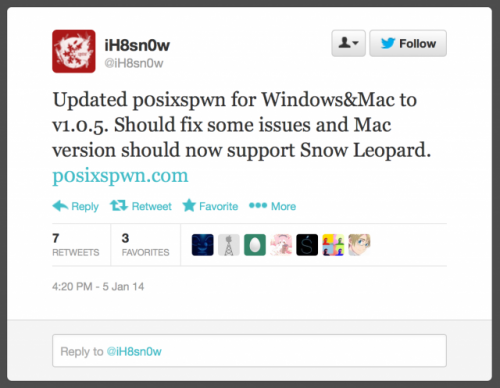 p0sixspwm updated 500x388 P0sixspwn Untethered Jailbreak for iOS 6.1.3   6.1.5 Updated January 5th