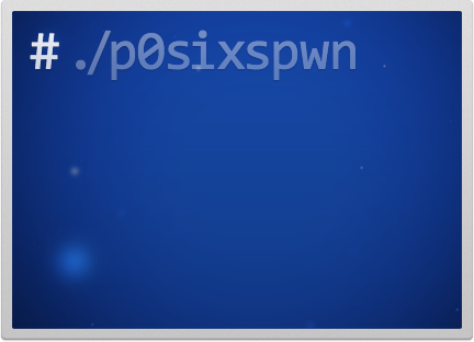 p0sixspwn updated Утилита для джейлбрейка p0sixspwn теперь поддерживает iOS 6.1.6