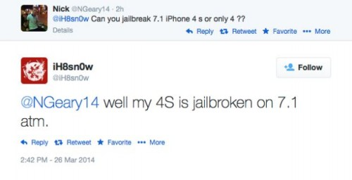 iphone4s jailbreak ios7.1 500x256 iH8Sn0w Confirms Untethered Jailbreak on iPhone 4s Running iOS 7.1