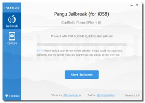 pangu8 start 300x214 Pangu8 1.2.1 Jailbreak Utility Released