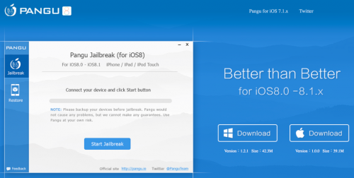 pangu81 500x252 Pangu8 Jailbreak Utility Released for Mac OS X