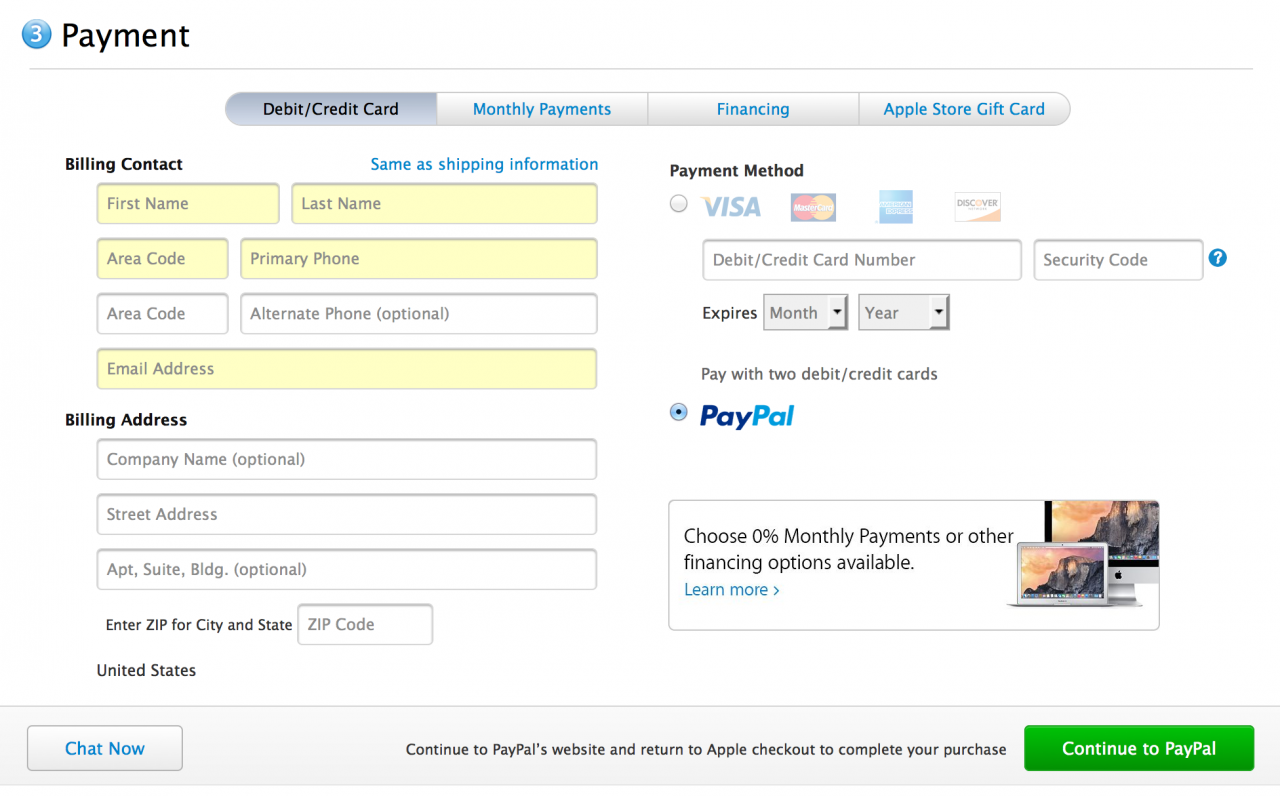 Stores That Accept Paypal Credit Online >> Apple Online Store Now Accepts Paypal Iphoneroot Com