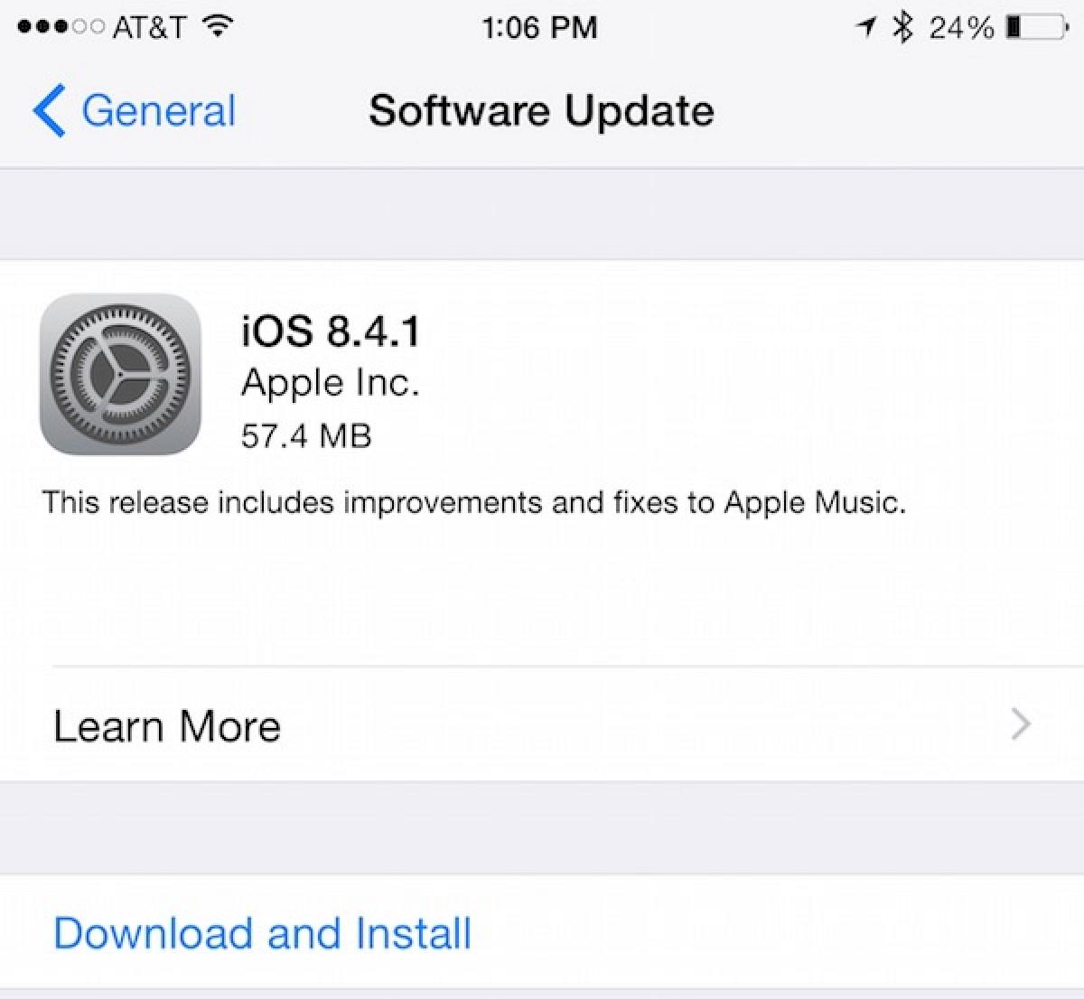 Программа iTunes обновлена до версии 12.2.2