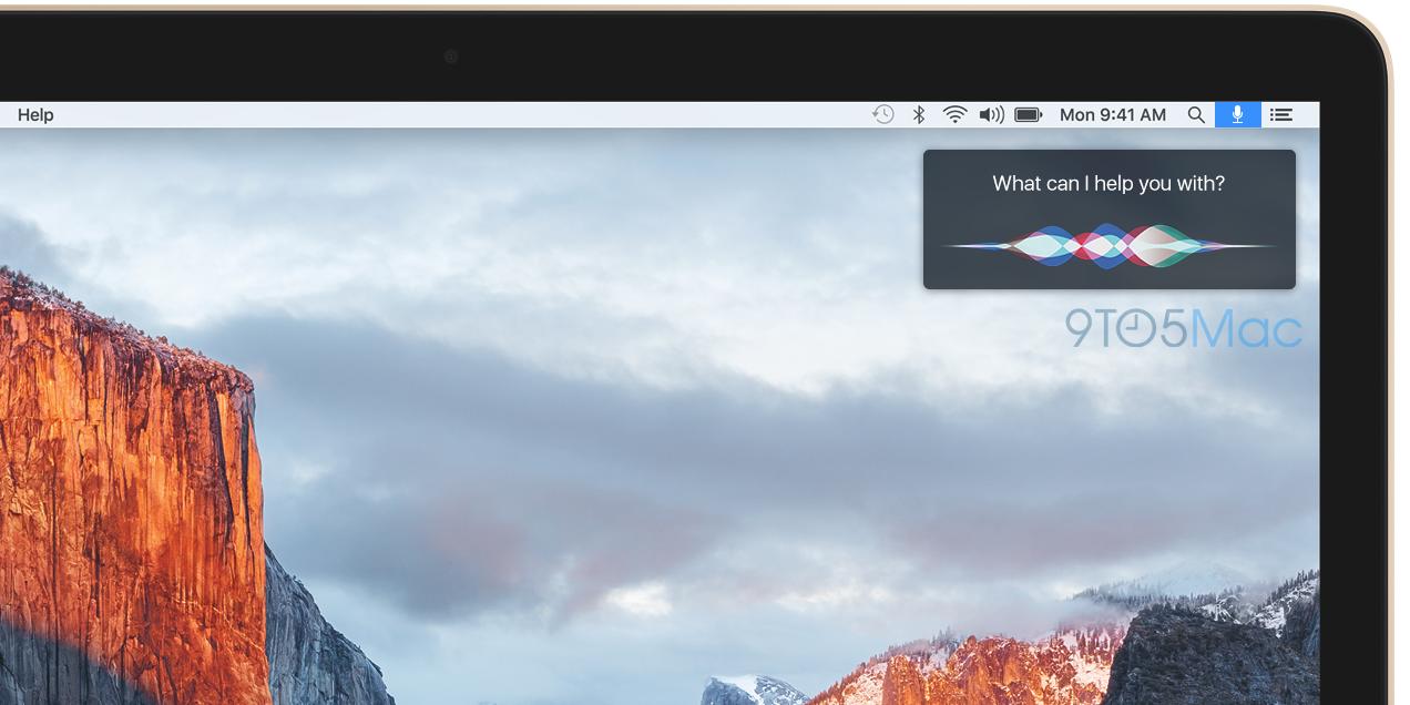 Слух: ассистентку Siri перенесут в OS X осенью
