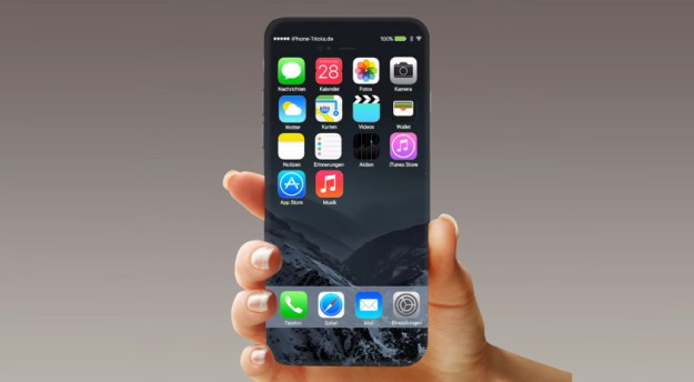 Влагоустойчивый iPhone 7 получит сенсорную домашнюю кнопку