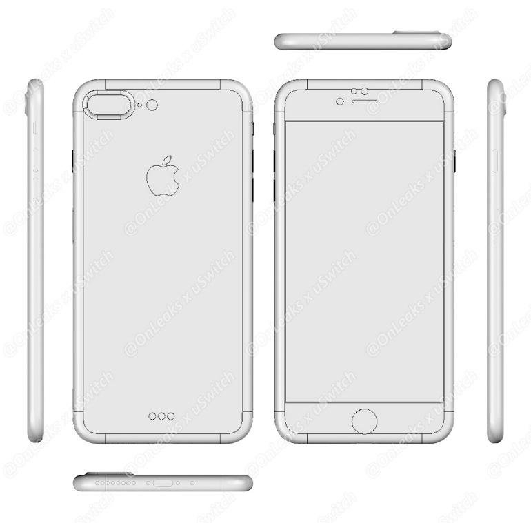 Apple выпустит поодной версии iPhone 7 иiPhone 7 Plus