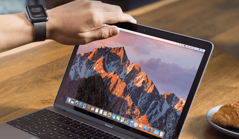 Apple представила macos sierra.