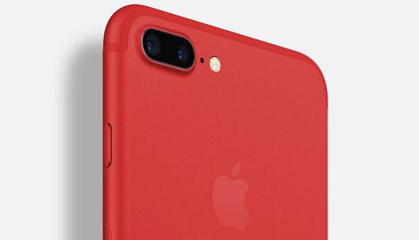 Apple выпустит iPhone в красном цвете