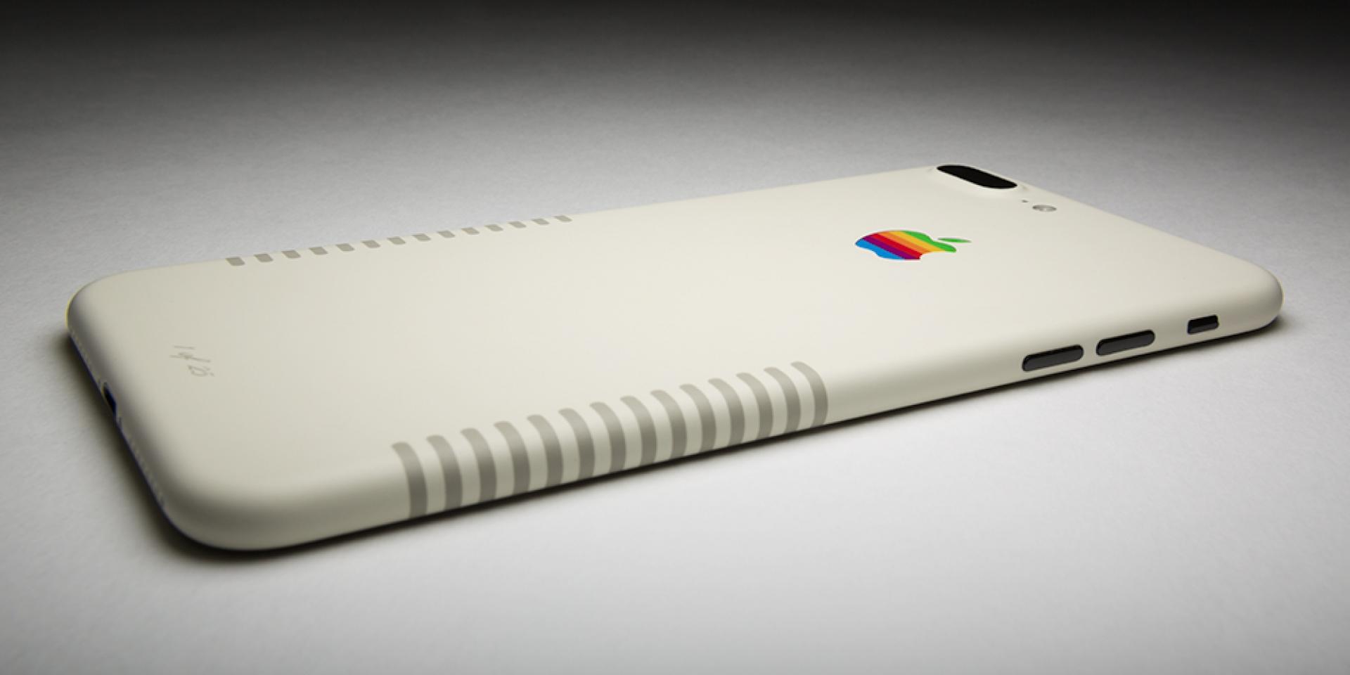 ColorWare представили iPhone 7+ вретро-версии
