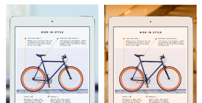 Новые iPhone могут получить дисплеи True Tone