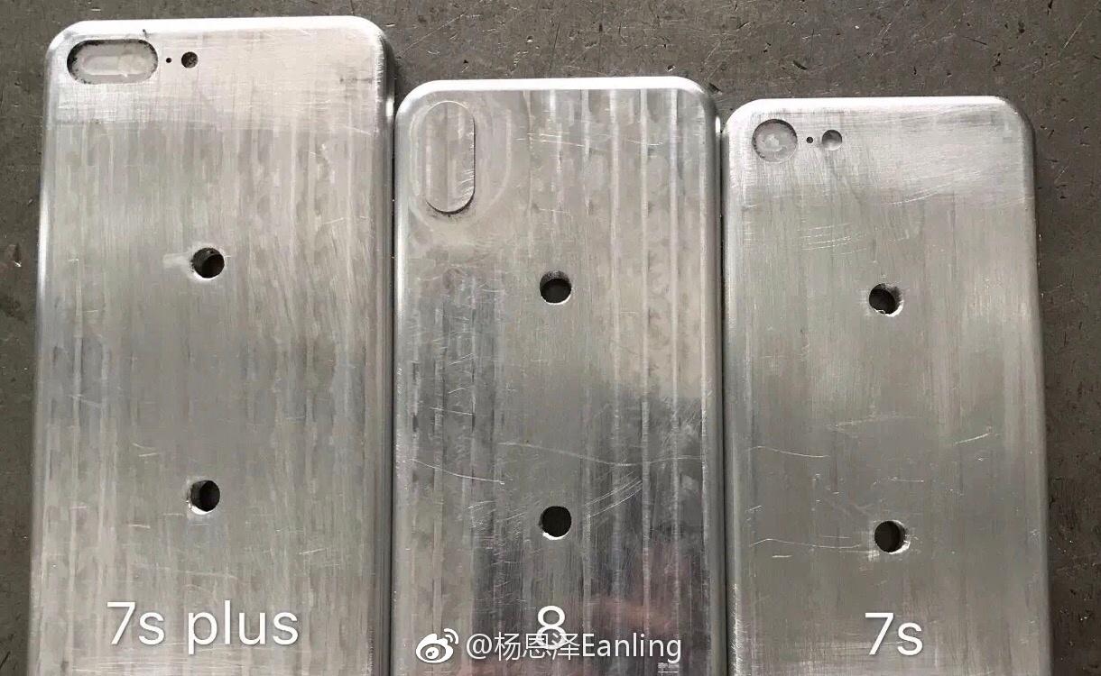 Раскрыты секреты телефонов iPhone 7s, iPhone 7s Plus иiPhone 8