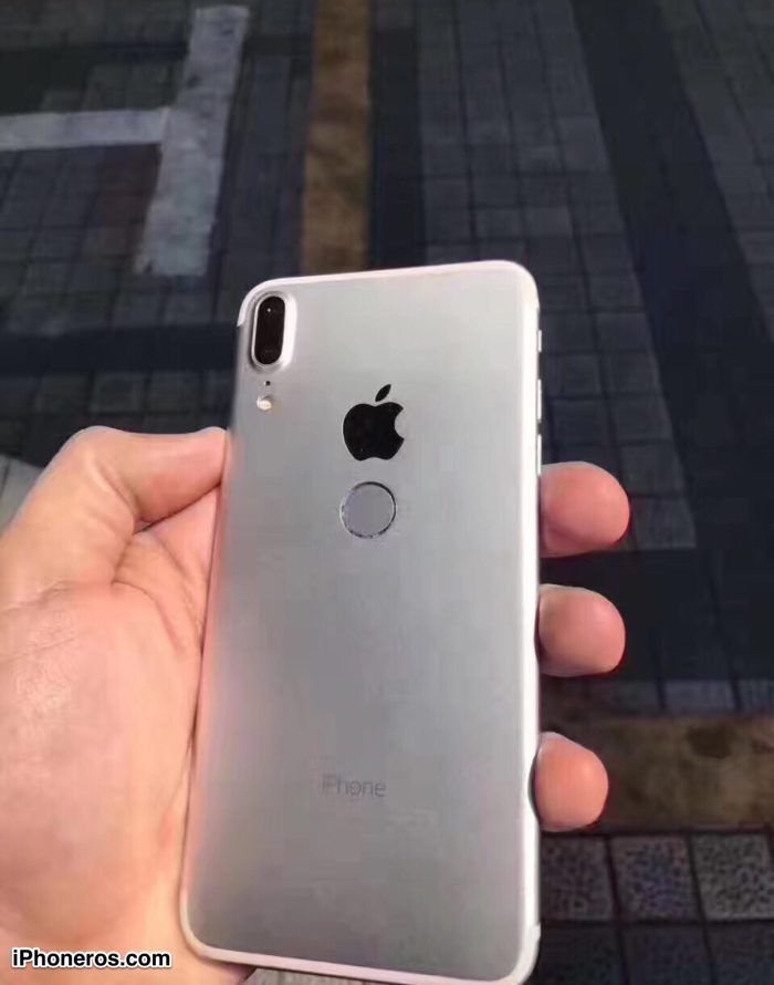 Check Out New iPhone 8 Images with Touch ID on the Back