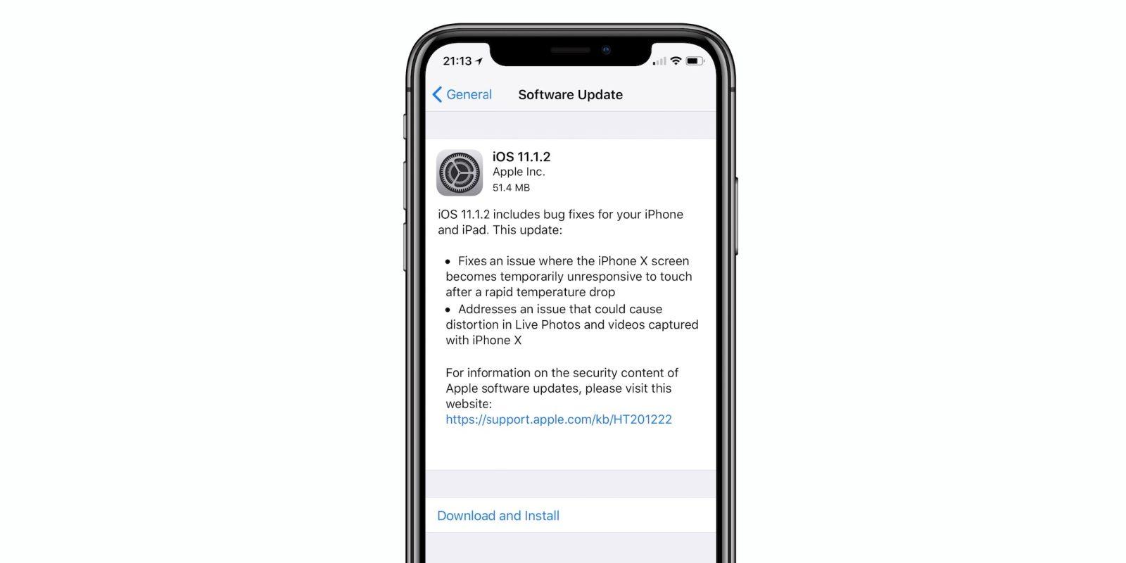 Решена проблема сотключением экрана iPhone X нахолоде