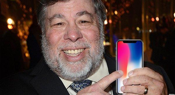 Стив Возняк снова раскритиковал iPhone X